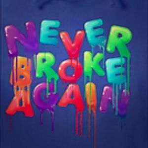 Other - Never broke again sports wear